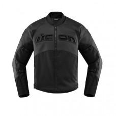 Black Stylish Motorcycle Icon Leather Jacket
