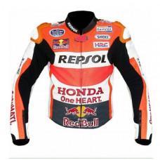 New Mens Multicolor Racing Motorcycle Cowhide Leather Jacket