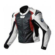 Racing Biker Mens Motorcycle Leather Jacket
