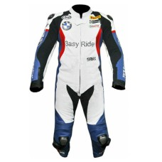 BMW Motorcycle Riding Leather Cowhide Suits