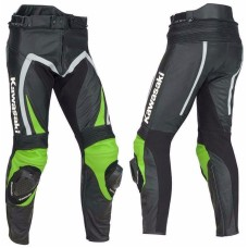 kawasaki MOTORBIKE/MOTOGP/MOTORCYCLE RACING LEATHER pant