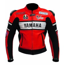 YAMAHA MOTORBIKE/MOTOGP/MOTORCYCLE RACING LEATHER JACKET